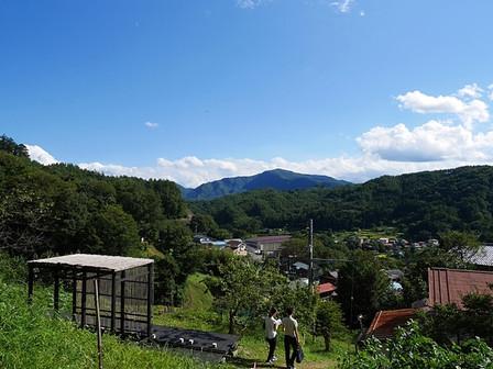 里山からの景色