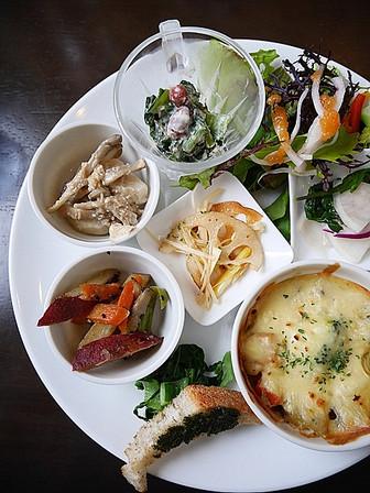 ランチ「旬野菜セット」