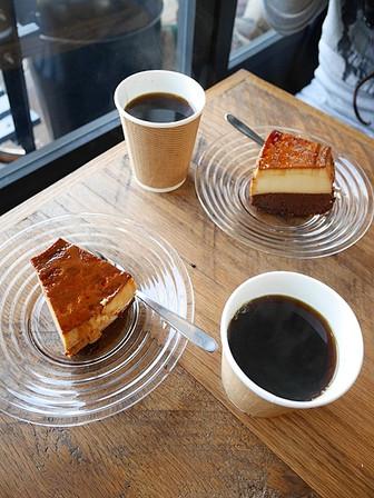 コーヒーとブラジルプヂン