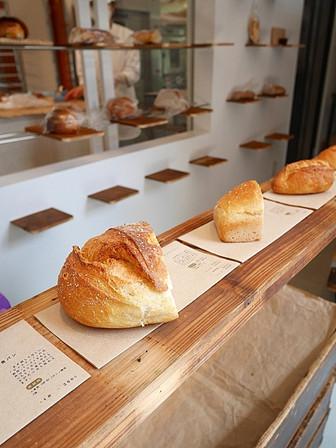カウンターのパンたち