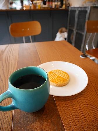 コーヒーとベイク