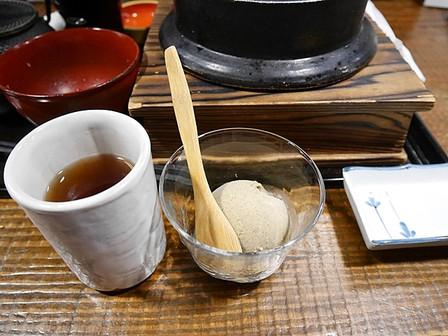 加賀棒茶とアイス