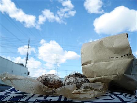 パンと青空