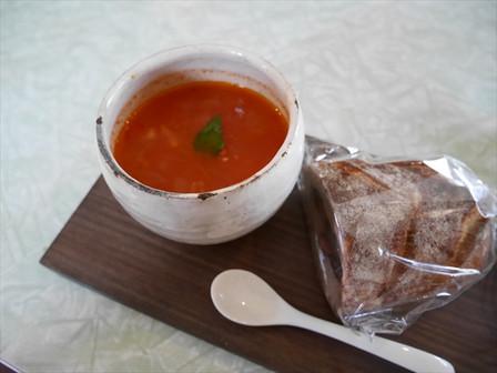 塩トマトスープ
