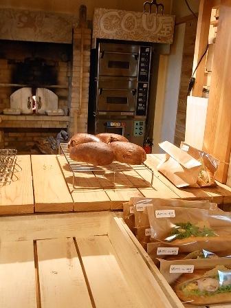 パンと石窯
