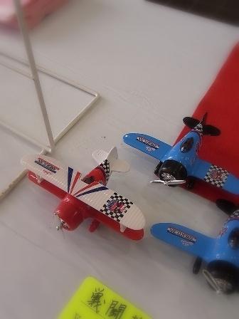 戦闘機おもちゃ