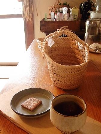 お茶とクッキー