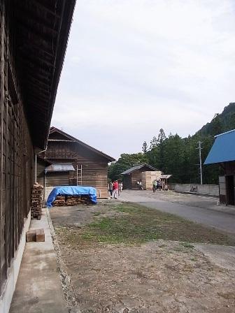 建物と景色