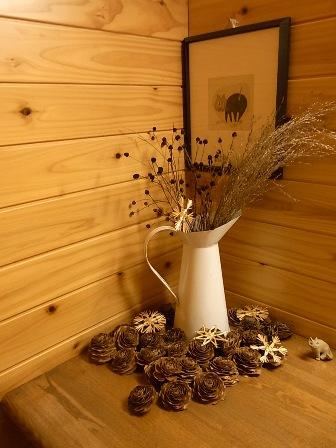 草木・木の実の飾り