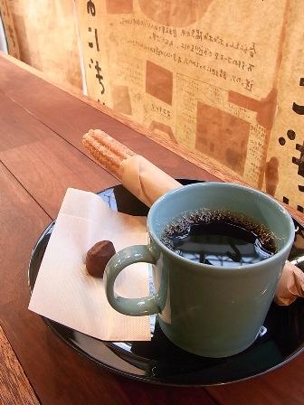 コーヒー&チュロス