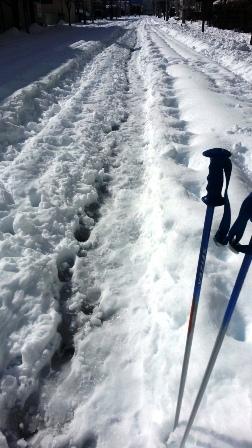 16日の雪の状況