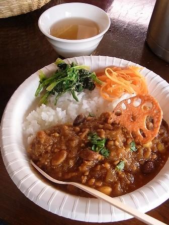 カナポン米のカレー