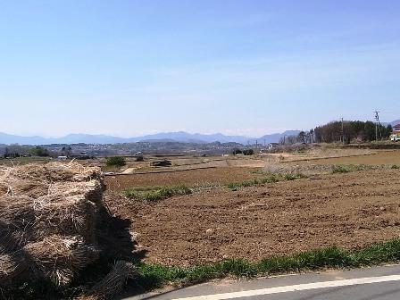 御牧原の風景