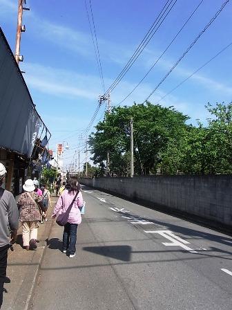 「富岡製糸場」脇道