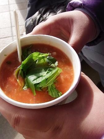 空島キッチンさんスープ