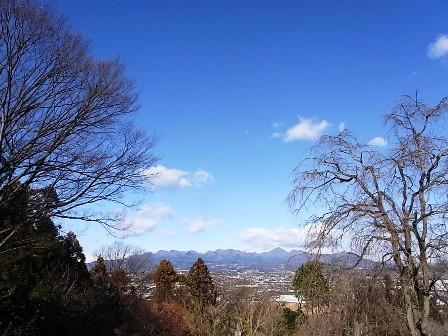 少林山からの風景