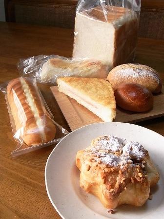 買ったパンたち