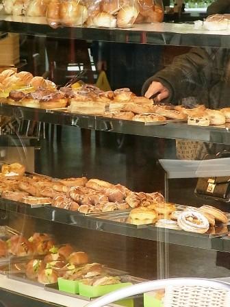 店内のパン