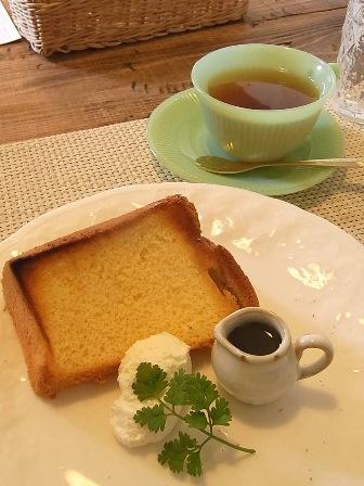 シフォンと紅茶