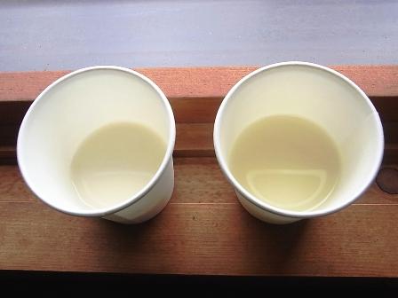 牛乳とホエー