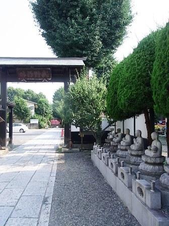 高安寺の入口